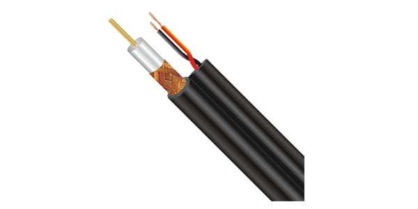 Coaxial Cable RG59 75 Ohm With Power 305M, Black-img-1