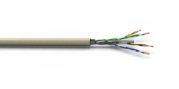 CAT6 U/UTP 24AWG PVC CABLE 305M Light Ivory-img-1
