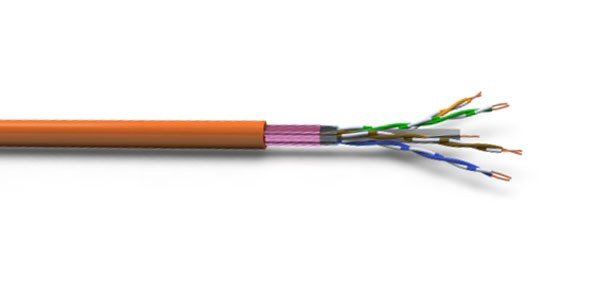 CAT6A F/UTP 23AWG LSZH CABLE 500M Orange-img-1