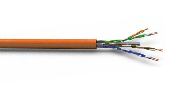 CAT6A U/UTP 23AWG LSZH CABLE 500M Orange-img-1