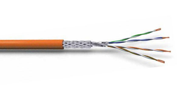 CAT7 S/FTP 23AWG LSZH CABLE 500M Orange-img-1