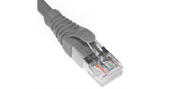Cat6A, U/FTP, Patch Cord, 10m, PVC, Grey-img-1
