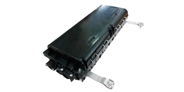 Outdoor Horizontal type, Optical Fibre Splice Closure with SC APC Adapters,capacity 24 Cores.-img-1