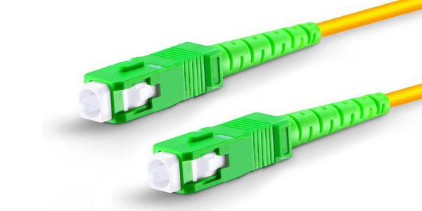 Fiber Patch Cord Single mode SC/SC APC Simplex, 01M-img-1