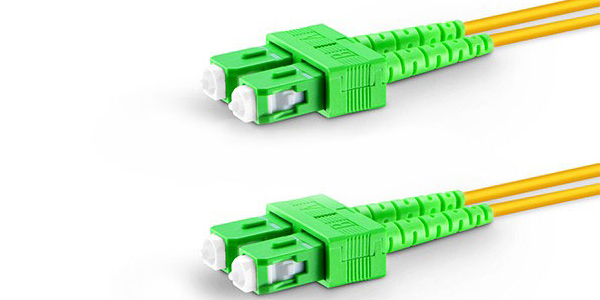 Fiber Patch Cord Single mode SC/SC APC duplex, 1M-img-1