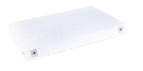 ABS, Sliding Fibre patch panel, with front faceplate 12 port SC Duplex-img-2
